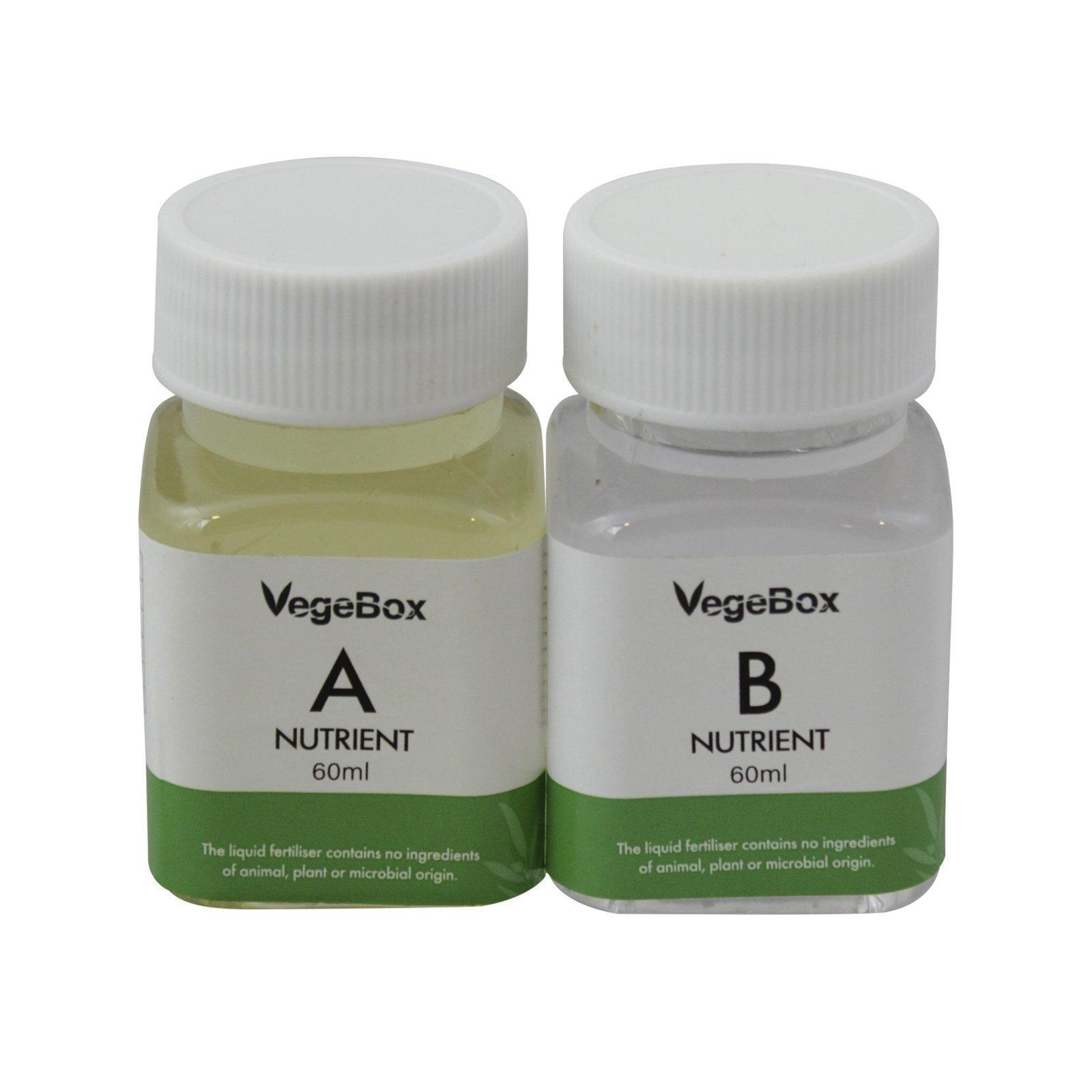 Vegebox™ - A & B Nutrient Solution - 60ml Set